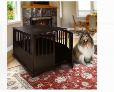 $181.23 • Buy Large Dog Crate XL Indoor Pet Kennel End Table Stand Dog House Cage Furniture