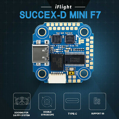 AU95.94 • Buy IFlight SucceX-D MINI F7 TwinG Flight Controller For DJI Air Unit FPV System