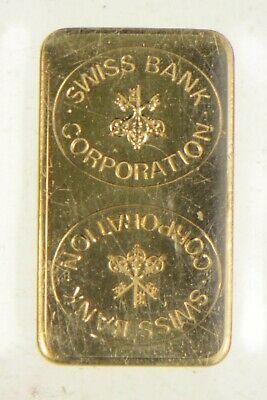 $102.50 • Buy 1 Gram 999.9 Fine Gold Bar - Swiss Bank Corporation *906