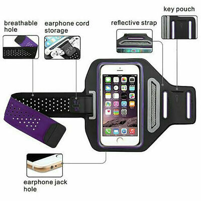AU10.79 • Buy Sports Gym Running Armband For Apple IPhone XS Max XR X 7 8 6 Plus Arm Band ASB