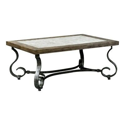$877.80 • Buy Uttermost Mona Light Honey Stained Coffee Table - 25857