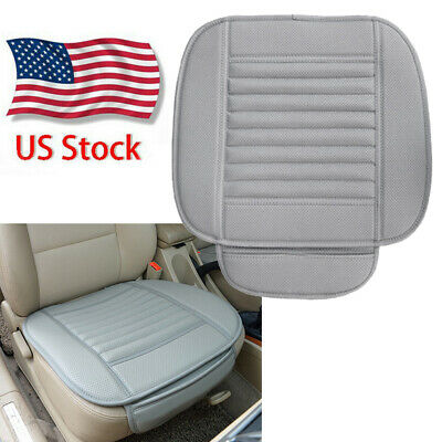 $12.99 • Buy Car Front Seat Cover Protector Cushion PU Leather Mat Auto Chair Pad Accessories