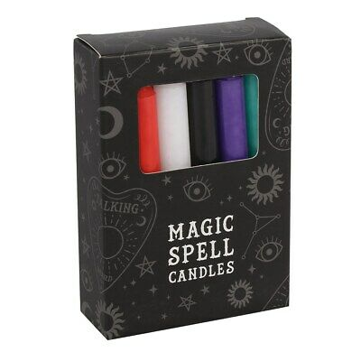 Pack Of 12 Mixed Spell Candles • 4.90£