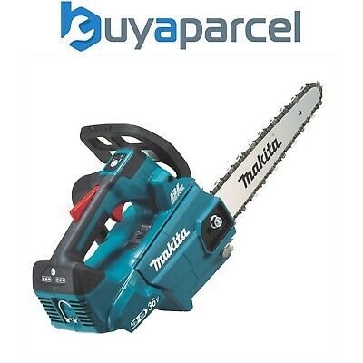 View Details Makita DUC256Z Twin 18v / 36v LXT Cordless Lithium Ion Chainsaw 250mm Bare Unit • 229.99£