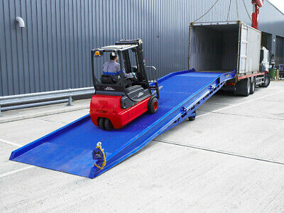 Easyramps Container Forklift Loading Ramp, For Lorry And Dock, UK EU Manufacture • 6,950£