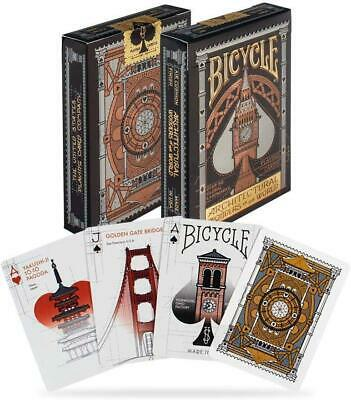 £10.79 • Buy Bicycle Architectural Wonders Of The World Deck Playing Cards Casino Poker Magic