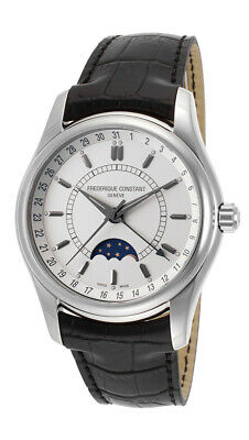 $849 • Buy Frederique Constant Index Moontimer Automatic Steel Mens Strap Watch FC-330S6B6
