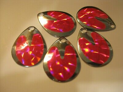 $2.25 • Buy #3 Colorado Spinner Blades Holographic $2.25 For 5 Of Same Color (Pink)