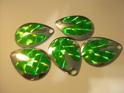 $2.25 • Buy #3 Colorado Spinner Blades Holographic $2.25 For 5 Of Same Color (Green)