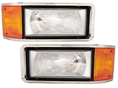 $241.99 • Buy For Headlamp With Bulb 93-06 CH 91-07 CL Pair Passenger RH And Driver LH Side