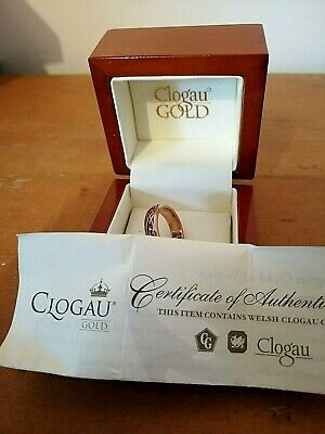 Clogau Gold Ring Size O 5.39 Grams • 220£