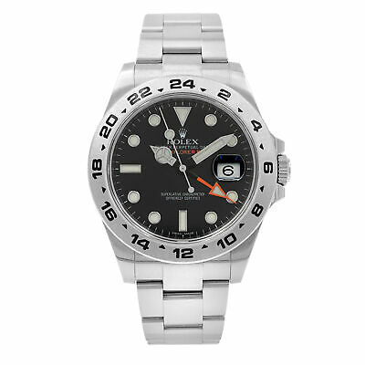 $ CDN10343.10 • Buy Rolex Explorer II 216570 BKSO Black Dial Stainless Steel Automatic Men's Watch