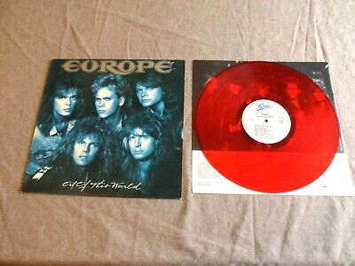 Europe – Red Vinyl Collectors Lp Album – Out Of This World     • 5.99£