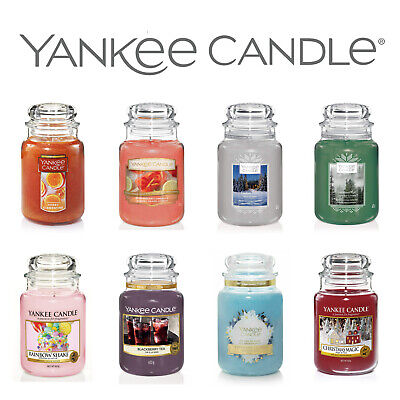 YANKEE CANDLE LARGE JAR CANDLES 22oz 623g BRAND NEW • 20.99£