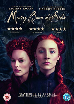 Mary Queen Of Scots (DVD) [2018], Very Good DVD, Joe Alwyn,Jack Lowden,Margot Ro • 4.24£