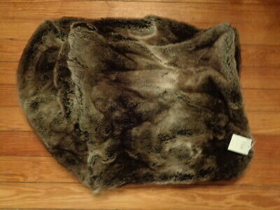 $59.98 • Buy RESTORATION HARDWARE Luxe Faux Mink Fur Beanbag Chair Cover NWT $109
