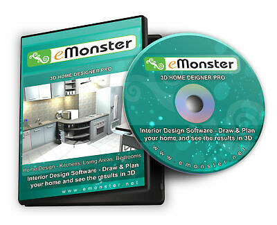 3D CAD House & Home Interior Design, Planning For Kitchen, Bathroom, Bedroom Etc • 2.99£