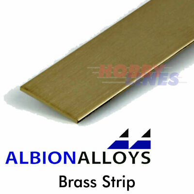 Albion Alloys Brass Strip Precision Metal Model Materials Various Sizes BS • 5.25£
