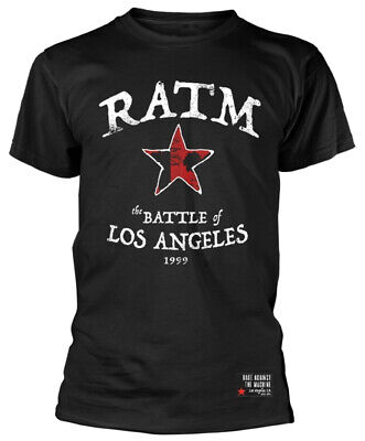 Rage Against The Machine 'Battle Star' (Black) T-Shirt - NEW & OFFICIAL! • 14.89£