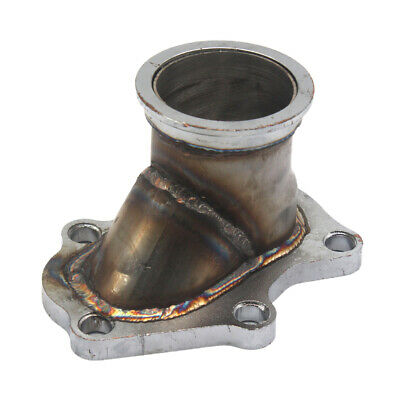 $ CDN48.69 • Buy Metal 5 Bolt Turbo Downpipe Flange To 2.5  V Band Adaptor For Subaru Forester XT