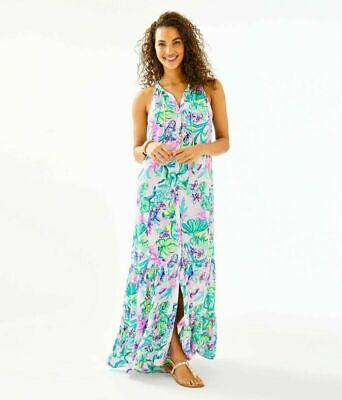 $79 • Buy Lilly Pulitzer LULIANA MAXI DRESS  SIZE XS-XL