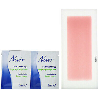 $15.04 • Buy Hair Remover, Wax Ready-Strips, For Legs & Body, 40 Wax Strips + 6 Post Wipes