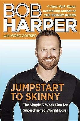 Jumpstart To Skinny By Bob Harper With Greg Critser 9780345545107 New (BW16) • 13.66£