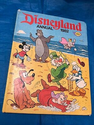 Disneyland Annual 1982 Fleetway Annual Vintage Hardback Book • 6.50£
