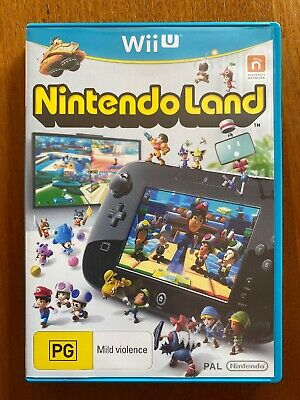 AU8.99 • Buy Nintendo Land (PG) Wii U PAL Free Postage Oz Seller