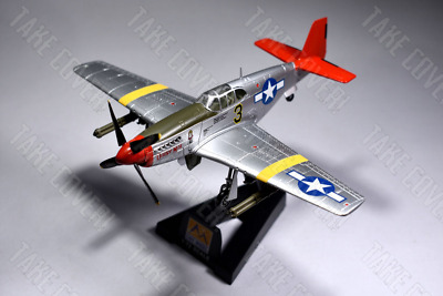 Easy Model 39202 - Mustang P-51C - USAAF 332FG - Tuskegee Airmen  Red Tails  WW2 • 15.95£