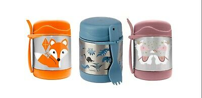 AU24.90 • Buy NEW My Family Insulated Food Jar Container Foxy Llama Trex 10 Hours Hot Thermos