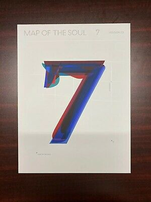 $12 • Buy BTS - MAP OF THE SOUL : 7 Album VERSION 03 (NO PHOTOCARD)