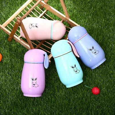 AU9.43 • Buy Kids Rabbit Stainless Steel Vacuum Cup Flask Thermos Mug Drink Water Bottle MH