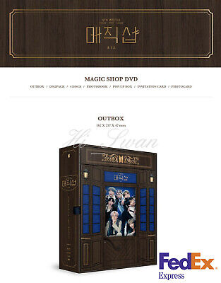 $72.99 • Buy [bts] - Bts 5th Muster [magic Shop] Dvd Official Goods + Free Tracking Number