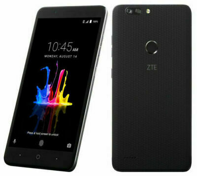 $128.75 • Buy NEW ZTE BLADE Z MAX Z982 UNLOCKED GSM 32GB Black TMOBILE METRO PCS AT&T CRICKET