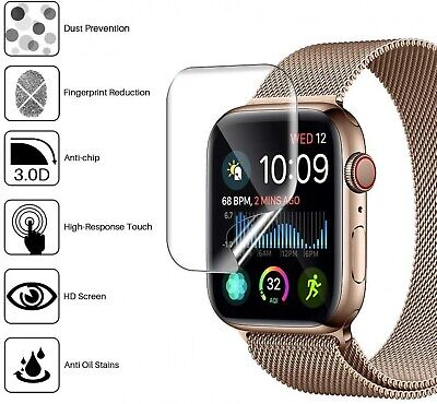 $ CDN5.51 • Buy Protective Case Cover For Apple Watch Series 2 3 4 5 IWatch Crystal Clear