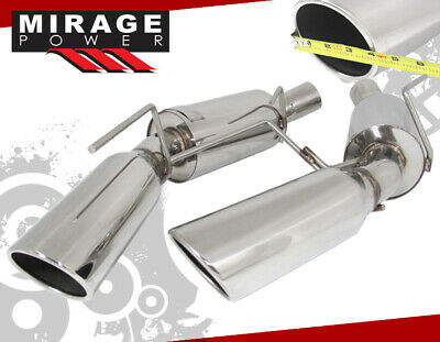 $197.99 • Buy Stainless Axle Catback Exhaust System 101mm For 05-09 Mustang S197 4.6L SOHC V8