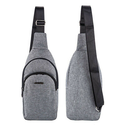 AU12.99 • Buy Mens Chest Bag Small Crossbody Shoulder Backpack Sling Man Satchel Travel Bag