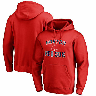 Majestic Men's Boston Red Sox Victory Arch Pullover Hoodie - Size: X-Large • 25.08£