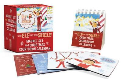 AU21.79 • Buy Elf On The Shelf: Magnet Set And Christmas Countdown Calendar By Running Press (