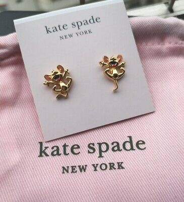 $ CDN28.06 • Buy Kate Spade New York  Tom And Jerry Stud Earrings