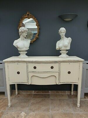 Vintage French Style Shabby Chic Cupboard / Sideboard / Drawers • 175£