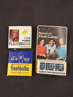 $14.99 • Buy Vintage Flashbulbs And Flash Cubes New Old Stock 3 Boxes