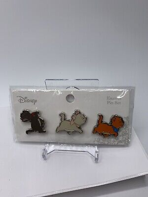 $ CDN121.32 • Buy Disney Loungefly Aristocats Siblings 3 Pack Pin Set Marie Berlioz Toulouse