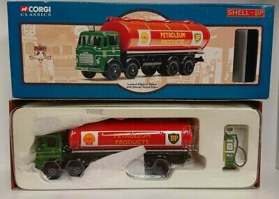 Corgi 24203 Leyland Elliptical Tanker SHELL-BP Ltd Edition No. 0002 Of 5000 • 54.95£