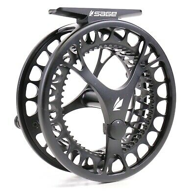 $290 • Buy Sage Click Fly Reel Stealth - ALL SIZES - FREE LINE AND BACKING - FREE SHIPPING