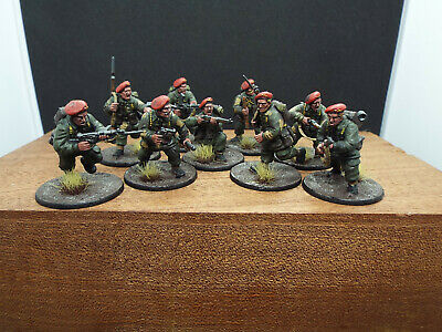 Warlord Games Bolt Action WWII 2 British Airborne Paras, Paratrooper Painted X9 • 27£