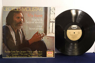 $12 • Buy Georges Moustaki, Ma Liberte, Karussell Records 2499 054, Pop, Chanson