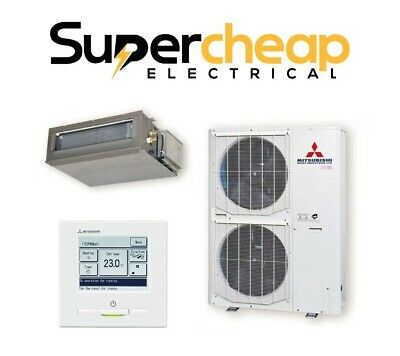 AU5445 • Buy Supply & Install Mitsubishi Heavy 10KW Ducted Split Air Conditioner FDUA100VF2