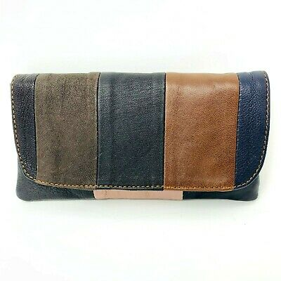 Soft Genuine Smoke Tobacco Pocket Pouch Case Real Leather Lining Rolling Pocket • 8.75£